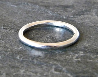 Thumb Ring for Women - Sterling Silver Stack Ring - Silver Thumb Ring - Womans Thumb Ring - Boho Jewelry - Big Silver Ring - US Size 5 - 14