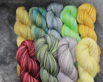 Baby Alpaca/Silk Lace Wt. Yarn (Lots 781 - 789),  800 yd, 4.3 oz
