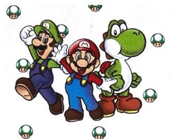 """Toddler Mario Brothers 30""""X55"""""""