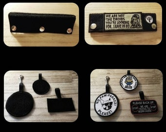Hook and Loop Fastener Patch Accessories