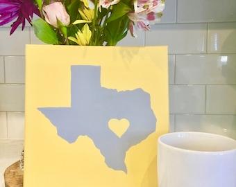 Texas Painting, Austin Love