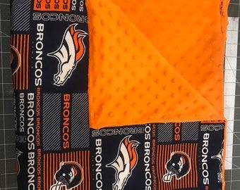 Denver Broncos Baby Blanket