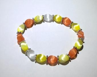 Summer Sunshine Beaded Bracelet