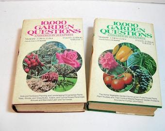 10,000 Garden Questions Vintage Books