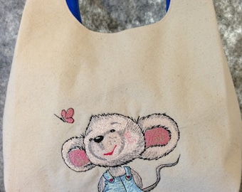 Mouse and a Butterfly - Just About Anything Tote