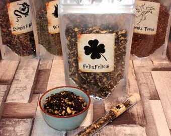 Harry Potter Inspired Teas - Magic Gift - Fantasy Gift - Tea Potions - Felix Felicis - Wolfsbane - Phoenix Tears - Dragons Blood