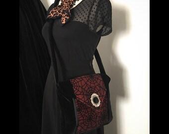Spiderweb purse