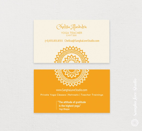 Yoga business cards selol ink yoga business cards colourmoves