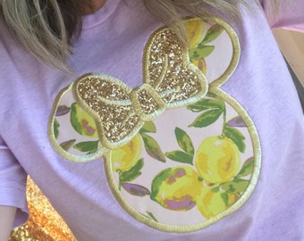 Violet Lemonade Minnie Tee