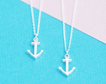 Anchor Necklace 925 Sterling Silver