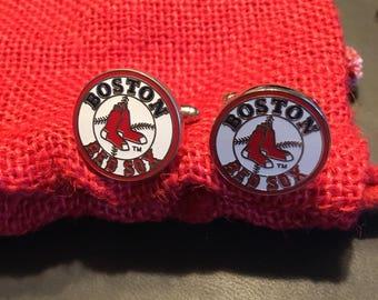 Boston Red Sox Cufflinks