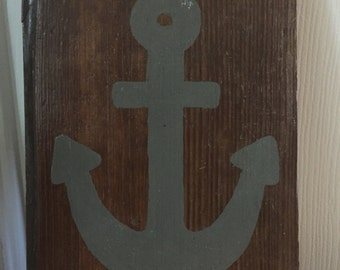 Anchor Barnwood Wall Decor