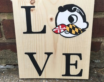 Maryland Love sign