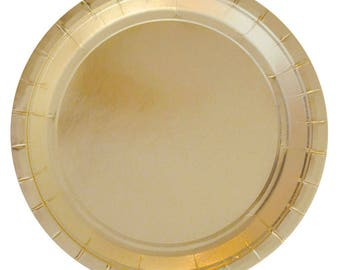 Gold Party Plates,Large Plates,Gold Party,Flashy Party Plates,Formal Party Plates,Large Party Plates,Bridal Party Plates,Gold Party Supplies
