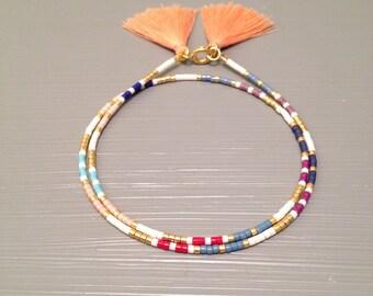 Bead Wrap Friendship Bracelet Wrap Bracelet Friendship Beaded bracelet seed bead jewelry