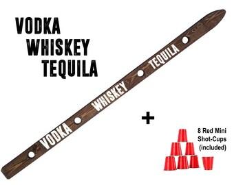 Vodka, Whiskey, Tequila ShotSki