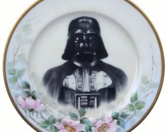 "Darth Portrait Plate 6.4"""