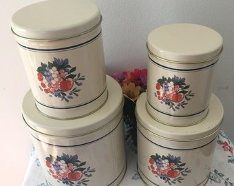 1990's Balanoff New Tin Canister Set
