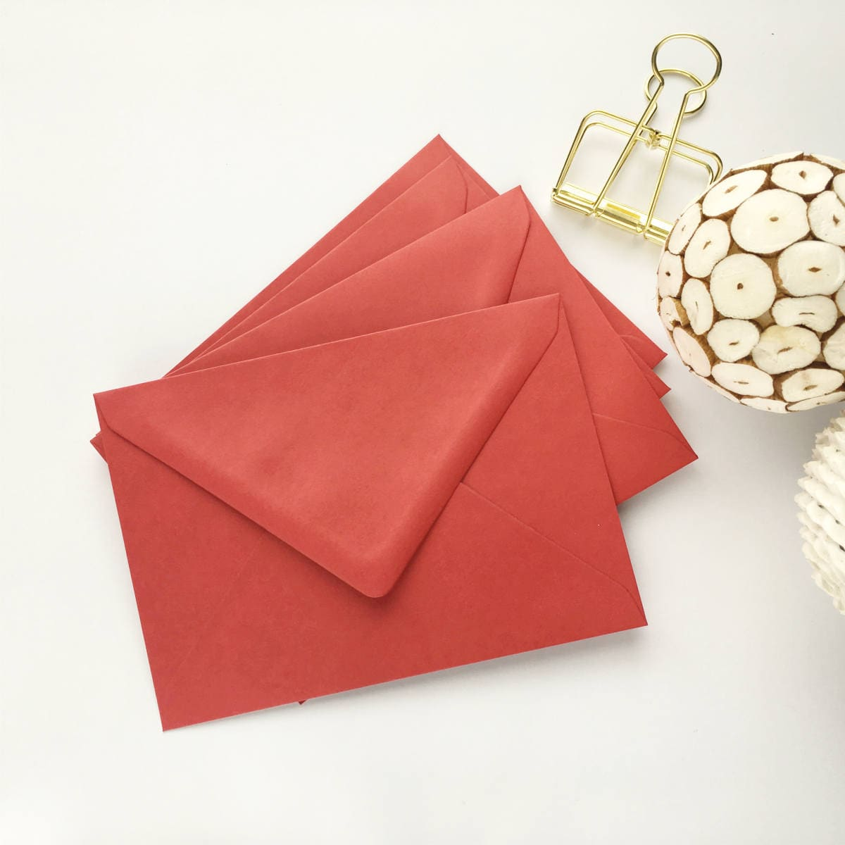 200 Red 4x6 Envelopes A6 C6 Bulk Envelopes Christmas Envelopes