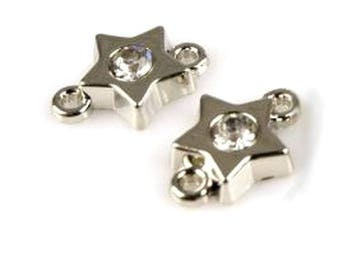 2 connectors jewelry Crystal star