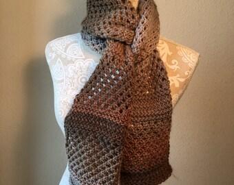 Castlewood Scarf -- a loom knit pattern