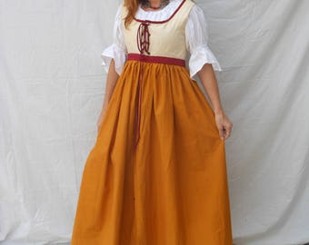Awesome Women's Costume for Medieval Character, Cosplay, Renaissance, SCA Halloween Mardi Gras Costume Small Medium #42