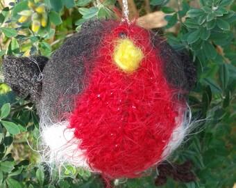 Handmade Christmas Robin