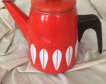 Catherine Holm Ware red teapot