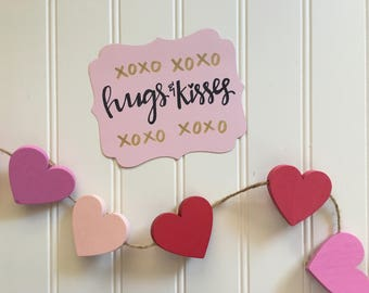 Hugs and Kisses card set || Valentine's Day