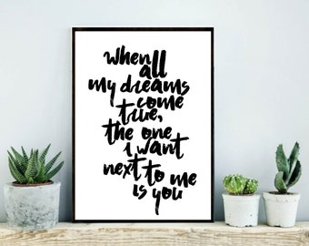 One Tree Hill Quote OTH One Tree hill print one tree hill art one tree hill printable wall art wall decor oth payton sawyer quote print