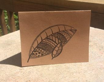 Hand-drawn Greeting Card