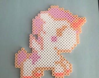 Magical unicorn perler
