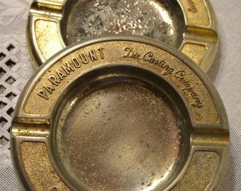 Vintage Ashtray Paramount Die Casting Michigan Set of 2 Metal Panchosporch