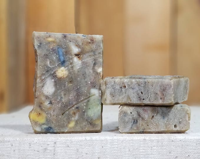 Scents of Adventure aka our incredible magical Scrap Soap -- All Natural, Handmade, Hot Process, Vegetarian, Mystery Soap - Free Shipping