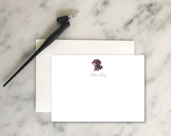 Custom Stationery / Dog Stationery / German Shorthaired Pointer / Mens Stationery / Personalized Stationery / Personalized Cards