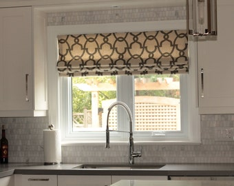 Kitchen Roman Shade / Roman Blind