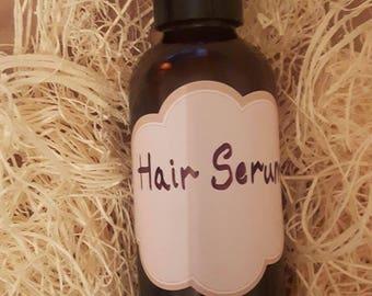 Home-made hair serum