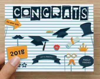 Graduation Class of 2018 Congrats Card