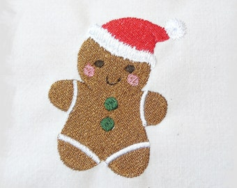 Christmas Gingerbread Machine Embroidery Design