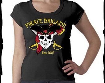 Pirate Brigade Ladies T-shirt