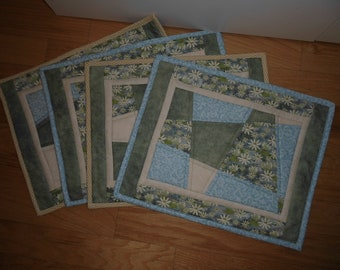 Placemats 4 pieces Crazy Patchwork