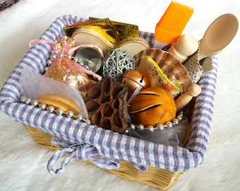 Explore and Learn Baby Treasure Basket: Standard