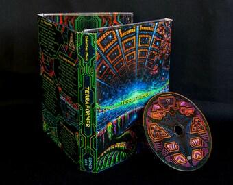 Psytrance CD  VA Terraformer goatrance compiled by DJ Adept psychedelic goa trance global sect