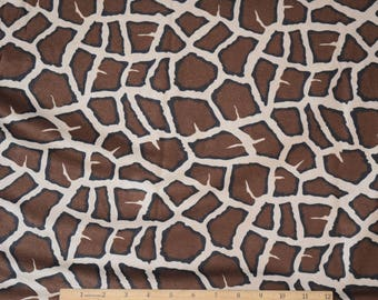 Giraffe Fabric Soft Suede-Cloth Fabric