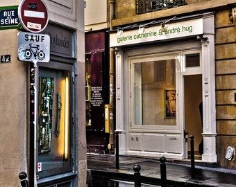 Rue de Seine, Paris, France