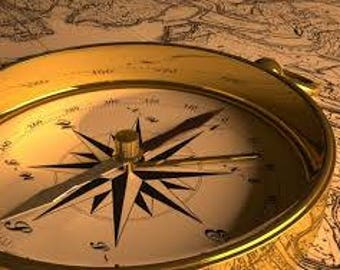 Spiritual Compass Reading: Divine Guidance Where you want to be. Digital download