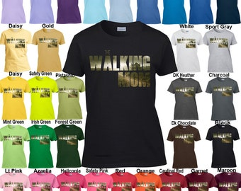 The Walking Mom - Classic Fit Ladies' T-Shirt XS - 3XL in 21 Colors