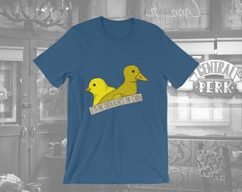 Friends (TV Show) - Chick And Duck T-Shirt