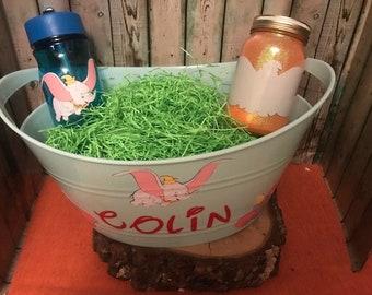Dumbo Gift Basket, Dumbo Easter Basket, Custom Gift Basket, Dumbo Gift Set, Personalized, Dumbo, Dumbo Nightlight, Dumbo Water Bottle, Kids