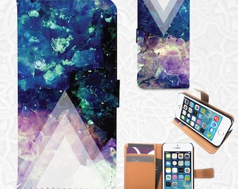 Arrow Abstract iPhone/smartphone flip PU leather Wallet case for iPhone 7, 7 plus 6, 6 plus, 5, 5s, iPhone 4, 4s- Samsung, Nexus 6, HTC M9